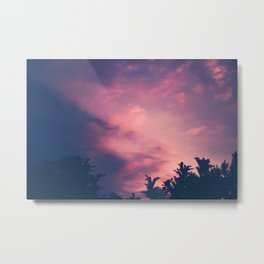 Royal Purple Metal Print