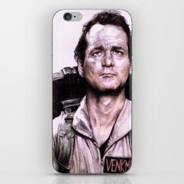 Peter Venkman from Ghostbusters iPhone Skin