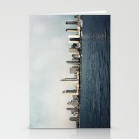 san diego Stationery Cards featuring San Diego  by Bree Madden