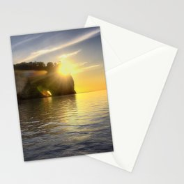 Pictured Rocks Sunset Stationery Cards