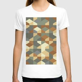 Abstract Geometric Artwork 51 T-shirt