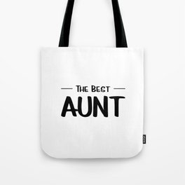The Best Aunt Tote Bag