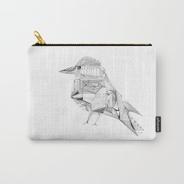 Geometric Architectural Bird-01 Carry-All Pouch