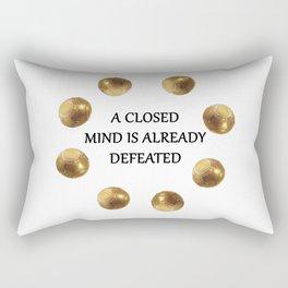 Zenyatta Quote Rectangular Pillow