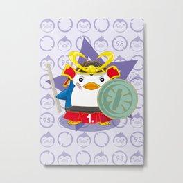 N°1 - Samurai Metal Print