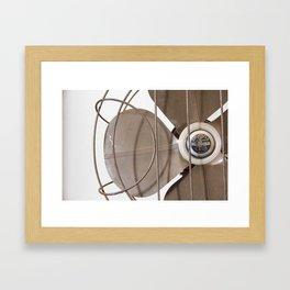 Vintage Handybreeze Fan Framed Art Print