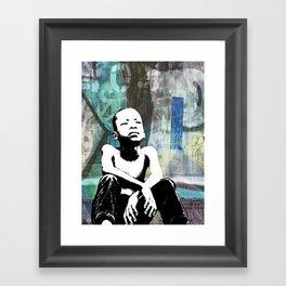 URBAN CHILD Framed Art Print