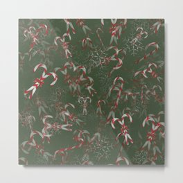 Candy Canes Galore! Metal Print