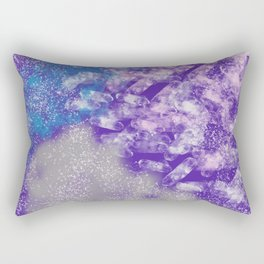 Splash of Purple Rectangular Pillow