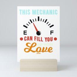Screwdriver mechanic saying Mini Art Print