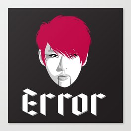 VIXX - ERROR - LEO Canvas Print