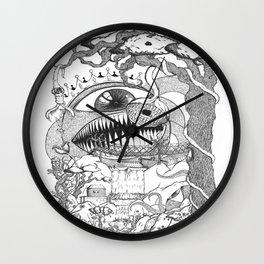 Monster's Garden! Wall Clock