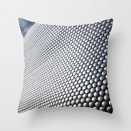 Bullring Shopping Center Throw Pillow