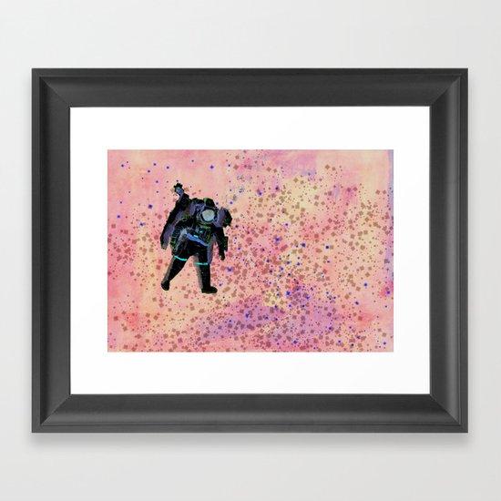 COSMOS 6 Framed Art Print