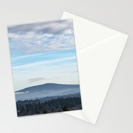 Mountain View From Powell Butte Stationery Cards