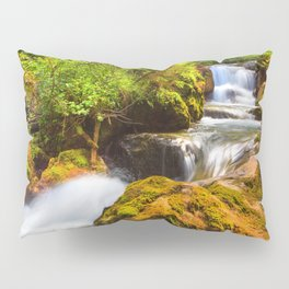 Swiss rapids. Pillow Sham