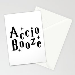 Accio Booze Stationery Cards