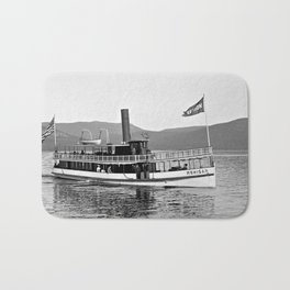 Vintage Mohican Steamboat Bath Mat