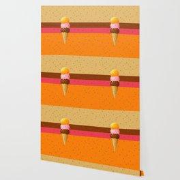 Ice Cream Party Wallpaper