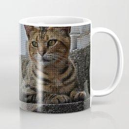 Tiles of a Cat Coffee Mug
