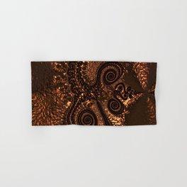 Textured Hammered Copper Hand & Bath Towel