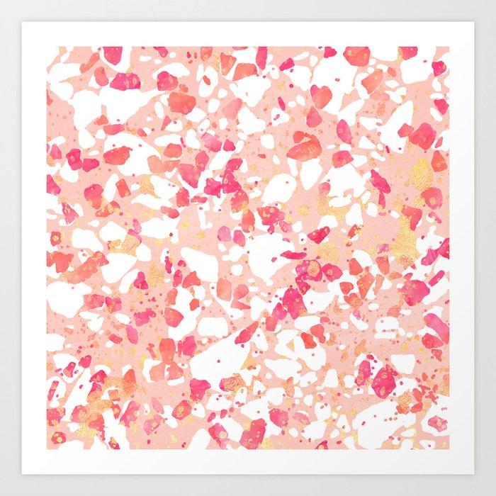 Terrazzo Delight Art Print