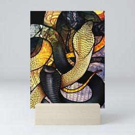 Equatorial Spitting Cobra Mini Art Print