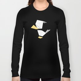 Little Simple Bird Long Sleeve T-shirt