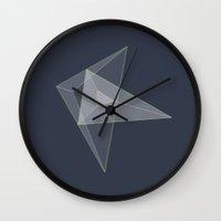 plane Wall Clocks featuring plane. by zenitt