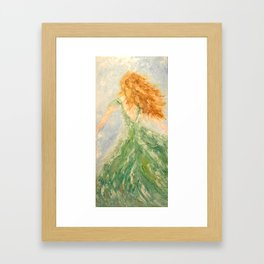 Windy Day Framed Art Print
