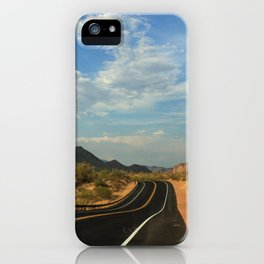 Lonely Highway iPhone Case