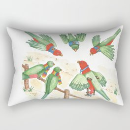 Birds of a Feather Flocking Together Rectangular Pillow