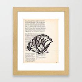 Happy Tuesday  Framed Art Print