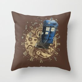 The Doctor?! Throw Pillow