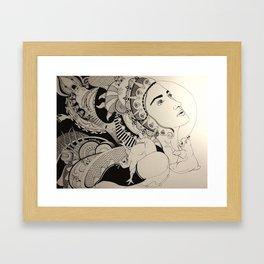 Inkling Study no. 17 Framed Art Print