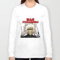 eddie vedder Long Sleeve T-shirts featuring Eddie Scissorhands by Azhmodai