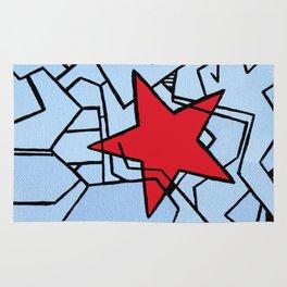 Winter Soldier Star Rug