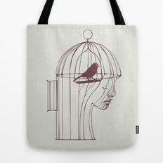 Be Alone Tote Bag
