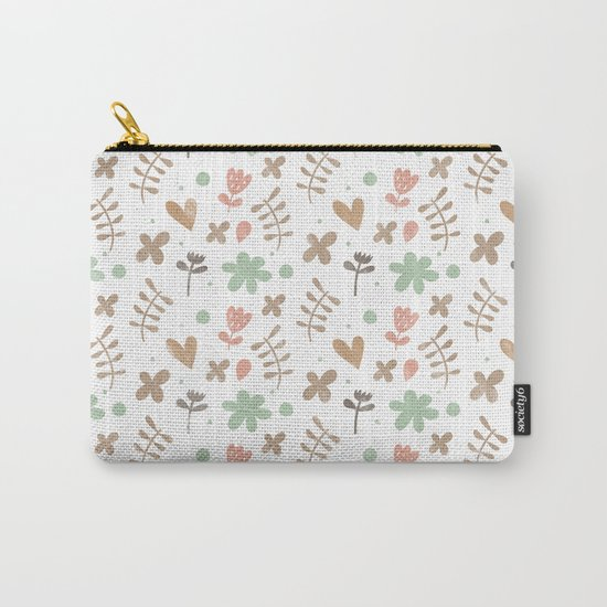 Colorful Lovely Pattern II Carry-All Pouch
