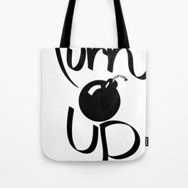 Turn Up Tote Bag