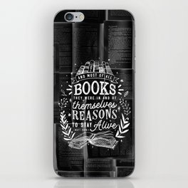 Reasons to stay alive iPhone Skin