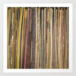 Records Art Print