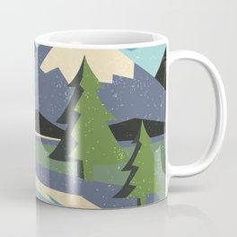 Snow on the mountain Coffee Mug