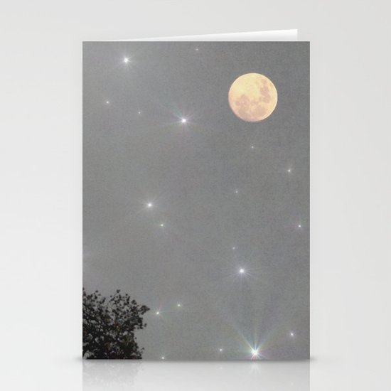 Moon Dust Stationery Cards