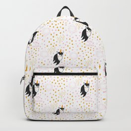 Magic Unicorn Pattern Backpack