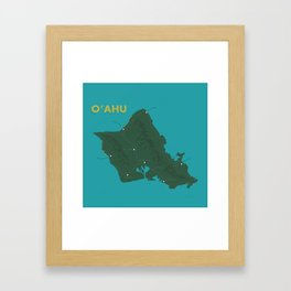 Oahu Framed Art Print