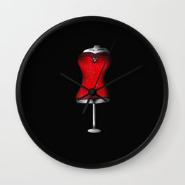 THE RED PROJECT - Feminine . Wall Clock