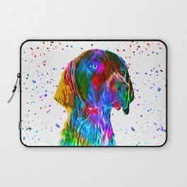 German Shorthaired Pointer Low Poly Laptop Sleeve