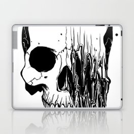 Skull (Distortion) Laptop & iPad Skin