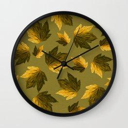 Autumn moods n.8 Wall Clock